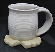 """Funny Foot Mug Original """"Foot Stein"""" Favorite Drink Tea Soda Energy Beer Boxed"""