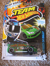 Team Hot Wheels Citroen C4 Rally Mattel NIB T5-22