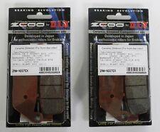 ZCOO 4 PASTIGLIE FRENO ANTERIORI RACING per TRIUMPH TIGER 800 2010 2011 2012