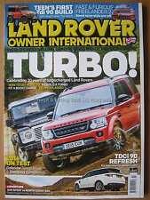 Land Rover Owner International July 2016 TDi 90 Freelander 2 Defender Turbos