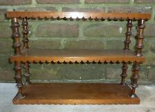 New listing Antique Spool Shelf - 3 Tiers
