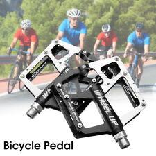 2x MTB Bici Bicicletta Cuscinetto Sigillato Pedali Flat-Piattaforma CNC Acciaio