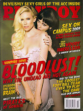 Playboy OCTOBER 2009-K – LINDSEY EVANS – WOODY HARRELSON – GIRLS OF THE ACC!!!