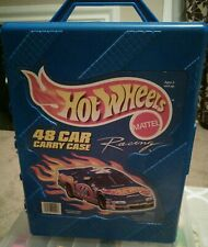 1998 Mattel Hot Wheels Car Carry Case TARA  # 20020,  48 Car Case, Vintage
