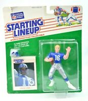 NEW NOS 1988 Kenner NFL Starting Lineup Chuck Long Detroit Lions Vintage I