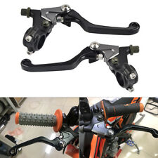 Shorty Black Clutch Brake Lever Set with Perch Fits Drum Brakes Model Dirt Bikes