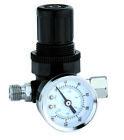New 1/4' MINI REGULATOR W/ GAUGE FOR COMPRESSOR COMPRESSED AIR PRESSURE