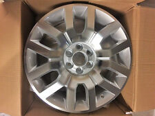 "18""SILVER & POLISH ALLOYS 6/114 ET30 FITS NISSAN NIVARA,PATHFINDER<55"