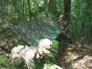 Fox Lightweight Basha (tarp), camping or hiking cover. Lightweight shelter