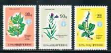 ALBANIA Sc 2246-8 NH ISSUE OF 1987 - FLOWERS