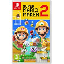Nintendo Switch-Super Mario Maker 2 Video Juegos