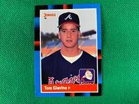 1988 Donruss #644 Tom Glavine RC Rookie Atlanta Braves