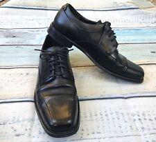Calvin Klein Horatio sz 11 Mens Dress Shoes Black Leather Lace up