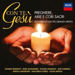 CON TE, GESU' - PREGHIERE ARIE E CORI SACRE - 2CD NUOVO SIGILLATO