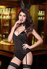 SEXY Damen schwarz Bunny Kostüm