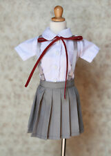 1/3 bjd SD13 girl dollfie dream smart doll Clothes Outfit School Uniform dress