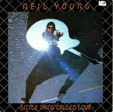 7inch NEIL YOUNG little thing called love HOLLAND 1982 EX / SOC   (S0220)