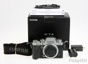 FUJI FUJIFILM X-T4 MIRRORLESS DIGITAL CAMERA BODY IN SILVER /26.1MP/ NICE PRICE