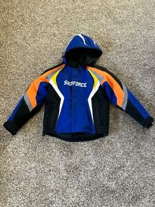 Yamaha Snow SnoForce Snowmobile Jacket Coat, Size Youth 10