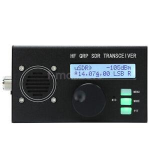 USDX QCX To SSB HF Transceiver QRP SDR Transceiver 8-Band 5W w/ DSP SDR f/ Radio