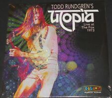 TODD RUNDGREN'S UTOPIA live at the fox 1973 usa 2-LP new sealed NAZZ