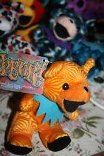 1998 Grateful Dead ASHBURY Dancing Bear Bean Bag Orange Plush Liquid Blue MWT