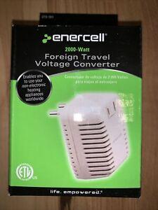 Enercell  2000 Watt Foreign Travel Voltage Converter - 273-191