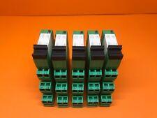 Koppelrelais 230V AC  2 Wechsler   5 er Pack