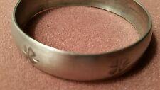Jyde-Kunst vintage for leaf clover bracelet marked 1742
