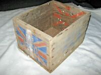 A Vintage PKR Nails & Wire Wooden Advertising Packing Box
