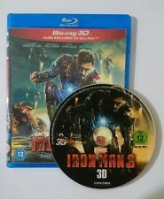 Iron Man 3 [3D Blu-ray Disk] **Region Free**