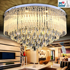 65cm Bluetooth Speakers+3 Light Colour+Remote Ctrl Geniune K9 Crystal Chandelier