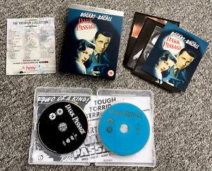 DARK PASSAGE 1947 Blu Ray & Dvd - UK HMV Exclusive  Premium. Film Noir. Artcards