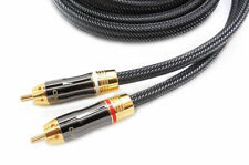 AKORD 3m Pro Stereo Audio Lead Cable (2 x RCA to 2 x RCA) - Gold