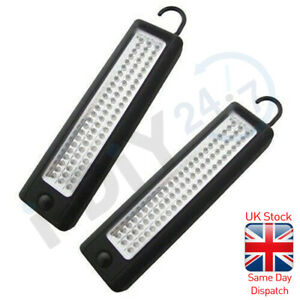2 X Ultrabright 72 LED Work light Inspection Lamp Magnetic Work Light Tent Torch