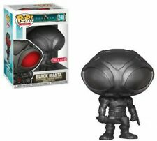 Dc Aquaman Movie Pop! Heroes Black Manta Exclusive Vinyl Figure #248 [Gun Metal]