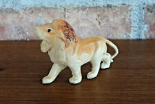 Vintage Celluloid Lion Small Figurine ~ Made in Japan