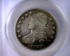 ANACS EF 40 DETAILS 1830 O-119 CAPPED BUST LETTERED EDGE HALF DOLLAR XF40