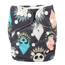 2017 new Baby Pocket Cloth Diaper Nappy Reusable Washable Native American Animal
