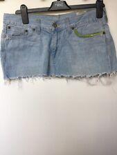 Pepe Jeans Size Small Short Denim  Skirt