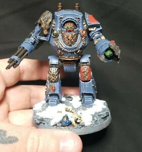 Space Wolves Forgeworld Relic Contemptor Dreadnought