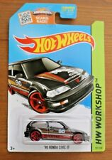Hot Wheels 2015 HW CITY 1990 Honda Civic EF Black