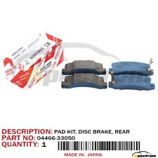 1999-2002 LEXUS RX300 FACTORY OEM 04466-33050 NEW REAR DISC BRAKE PADS SET