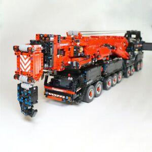 Power Mobile Crane Building LTM11200 RC Technic Motors Kits Legoed Blocks Bricks