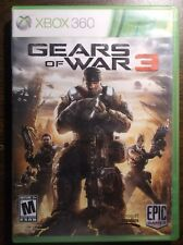 Gears of War 3 Xbox 360 Game Disc Case Stickers etc