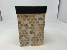 Bee Gift Box 7.5� Tall X 4.75 X 4.75 No Wrapping No Glue Required. Very Cute