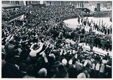 Rare Large 1936 Garmisch Olympics Olympic Opening Ceremony Collector Photo Card