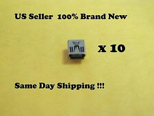 10 x BRAND NEW USB CHARGING CONNECTOR PORT FOR PS3 CONTROLLER REPAIR PART US