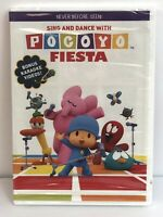 Pocoyo: Sing & Dance With Pocoyo Fiesta DVD + Bonus Karaoke Video! New Sealed!