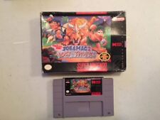 JOE & MAC 2 LOST IN THE TROPICS BOXED SNES SUPER NINTENDO GAME TESTED & WORKING